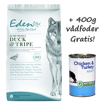Eden Adult Semi-Moist Duck & Tripe 12 kg