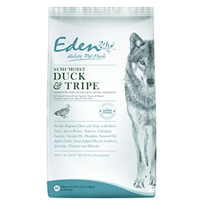 2 x Eden Adult Semi-Moist Duck & Tripe 12 kg