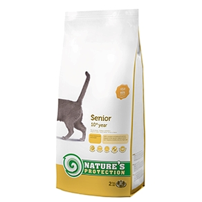 a Natures Protection Senior 7 kg.