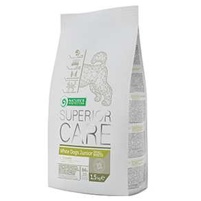 Superior Care White Dog 17 kg - Junior