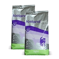2 x ICELAND PET Kat Light 7 kg.
