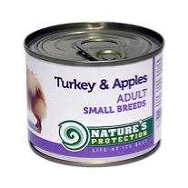 e Adult Small Breeds Turkey & Apples 200g