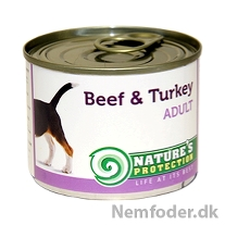 6 x 200 gr. Adult Beef & Turkey