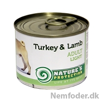 6 x 200 gr. Adult Light Turkey & Lamb