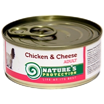 d Adult Chicken & Cheese 100g