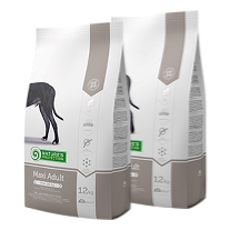 2 x Natures Protection Maxi Adult 12 kg.