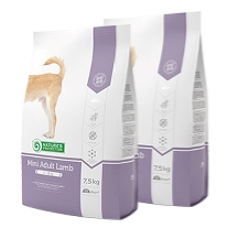 2 x Natures Protection  Mini Adult Lamb 7,5 kg