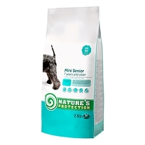 2 x Natures Protection Mini Senior 7,5 kg