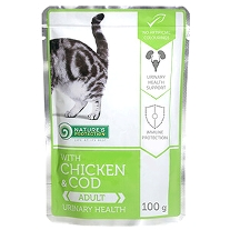 10 x 100g. Chicken & Cod - Urinary health