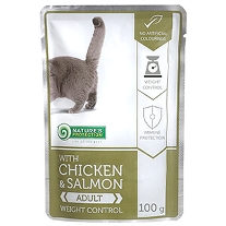 Chicken & Salmon - Weight control 100g