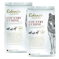 2 x Eden 80/20 Country Cuisine 12 kg - Lille foderpille