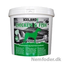 Iceland Pure Chicken & Fish 4 kg. KORNFRIT