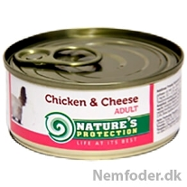 Adult Chicken & Cheese 100g