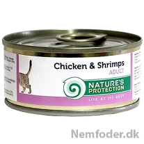 Adult Chicken & Shrimps 100g