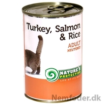 Neutered Turkey, Salmon & Rice 400g