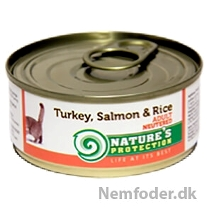 10 x 100g. Neutered Turkey, Salmon & Rice